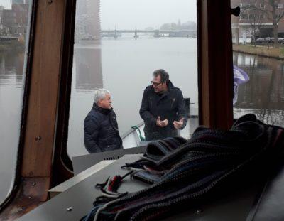 Boottocht in Amsterdam met veel donateurs!